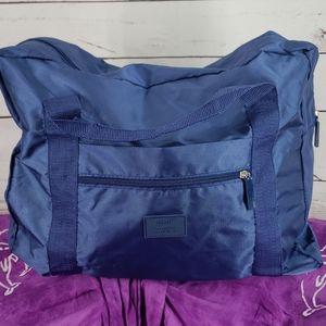 Travel Everyday Everywhere Blue Travel Duffle Bag